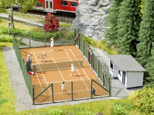 """NOCH 65615 - Themen-Set """"Tennisplatz"""" - H0"""