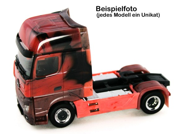 Herpa 934978 - Mercedes-Benz Actros 18 Gigaspace Zugmaschine, 2a - Marmor-Edition - 1:87