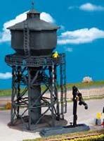Kibri 39328 (9328) - Wasserturm mit Befüllkran (Wasserkran) - Bausatz - H0