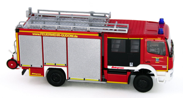 Rietze 72921 - Schlingmann Varus HLF Feuerwehr Gudow - 1:87