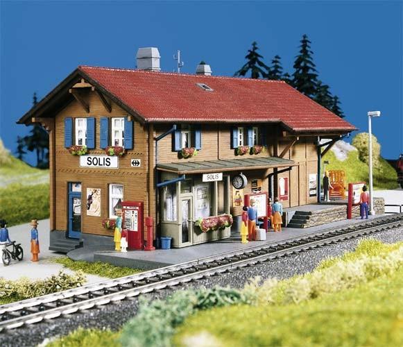 Kibri 39372 (9372) - Bahnhof Solis (Räthische Bahn) - H0