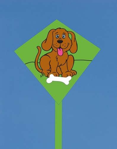 Mini-Eddy Doggy, Kinderdrachen von Invento-HQ (30 x 30 cm) - R2F