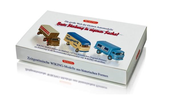 """Wiking 099090 - Set """"Alte WIKING Marken"""" - 1:87"""