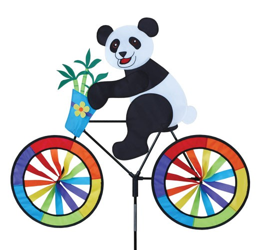 Premier Kites - Windspiel Fahrrad Panda / Panda Biker - 30 cm x 62 cm x 90 cm