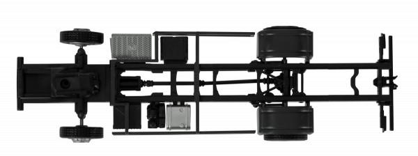 Herpa 084697 - Fahrgestell Mercedes-Benz Econic für Kofferaufbau (Inhalt: 2 Stück) - 1:87