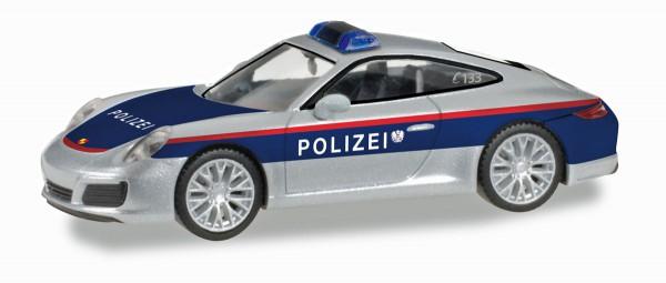 """Herpa 093507 - Porsche 911 Carrera """"Polizei Österreich"""" (A) - 1:87"""
