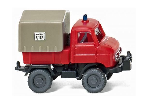 Wiking 097202 - Feuerwehr - Unimog U 411 - 1:160
