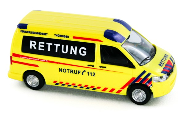 Rietze 53622 - Volkswagen T5 GP Emergency Medical Service Thüringen - 1:87