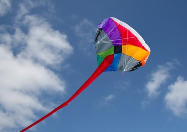 """Invento-HQ Multi-Kite """"Camouflage"""" - Einleiner und Lenkdrachen in Einem"""