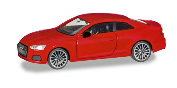 "Herpa 038805 - Audi A5 Coupé ""Black Edition"", tangorot metallic - 1:87"
