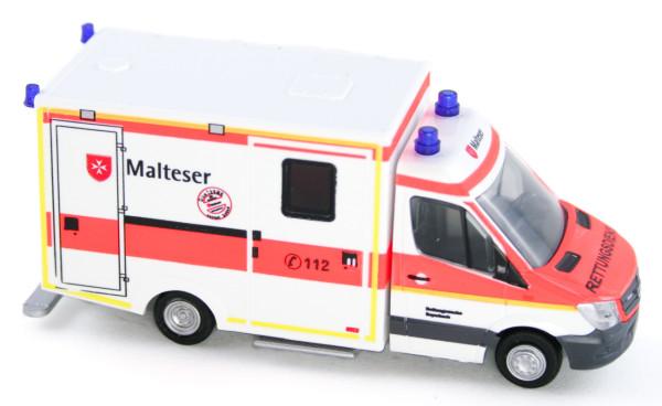 Rietze 61731 - WAS RTW Malteser Rettungswache Bayerbach - 1:87