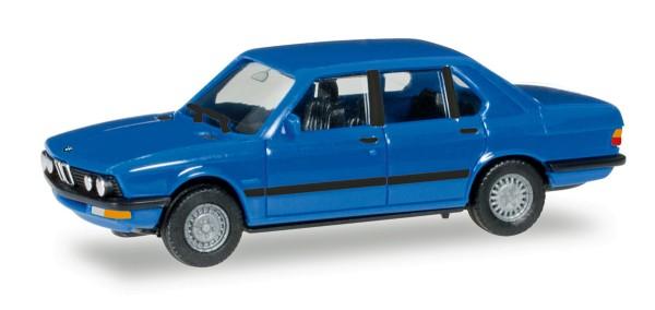 Herpa 028653 - BMW 528 i (E28), hellblau - 1:87