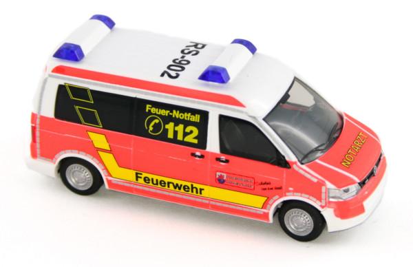 Rietze 53451 - Volkswagen T5 ´10 Feuerwehr Remscheid - 1:87