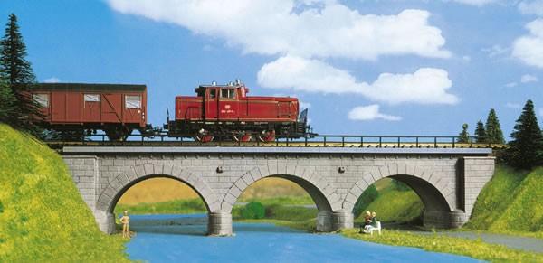 Kibri 39721 (9721) - Steinbogenbrücke eingleisig - H0