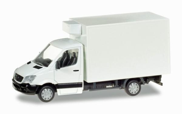 Herpa 013062 - Mercedes-Benz Sprinter Kühlkoffer, unbedruckt - 1:87
