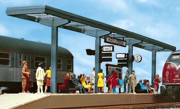 Vollmer 43537 - Bahnsteig - H0 (3537)