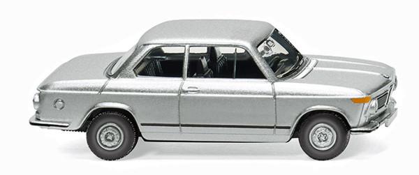 Wiking 018306 - BMW 2002 - silber-metallic - 1:87