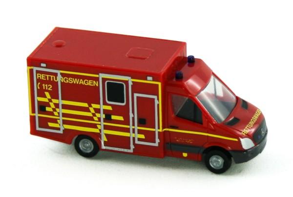 Rietze 16184 - WAS Ambulanz RTW FW Dessau - 1:160