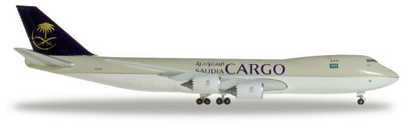 Herpa Wings 532891 - Saudia Cargo Boeing 747-8F - HZ-AI3 - 1:500