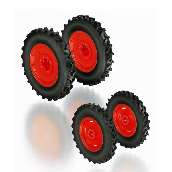 Wiking 077395 - Rädersatz Pflegebereifung für Claas Arion Baureihe 400 - 1:32