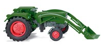 Wiking 0890 02 - Fendt Farmer 2S mit Frontlader - H0
