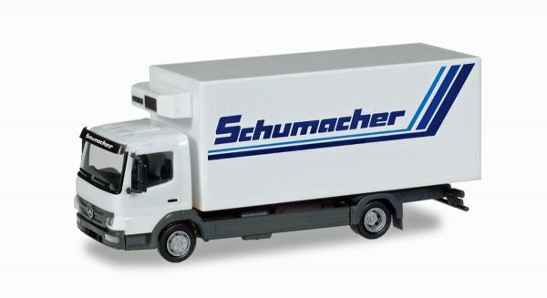 """Herpa 308540 - Mercedes-Benz Atego Kühlkoffer-LKW """"Spedition Schumacher"""" - 1:87"""