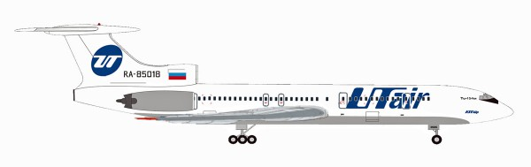 Herpa Wings 531146 - UTair Tupolev TU-154M - RA-85018 - 1:500