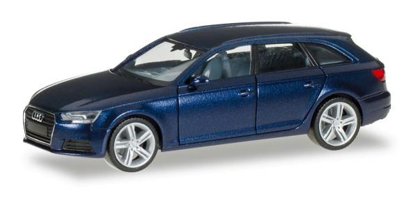 Herpa 038577-002 - Audi A4 Avant, scubablau metallic - 1:87