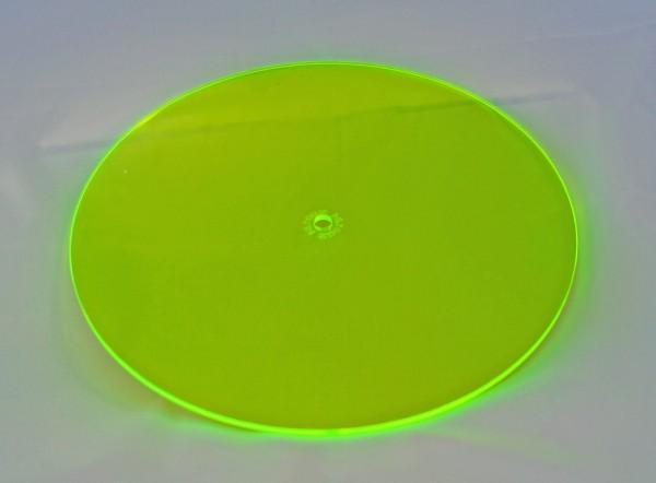 Lichtzauber Sonnenfänger - Scheibe groß, Ø 20 cm, grün (Elliot 1019001)