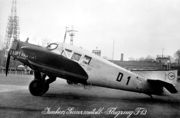 """Herpa Wings 019354 - Deutsche Luft Hansa Junkers F.13 - D1 """"Nachtigall"""" - 1:87"""