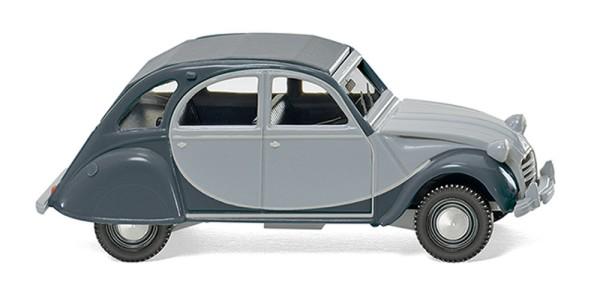 Wiking 080913 - Citroën 2 CV Charleston silbergrau/schiefergrau - 1:87
