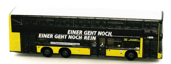 Rietze 16986 - MAN Lion´s City DL07 1:160 BVG Imagekampagne - 1:160