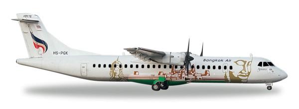 """Herpa Wings 559164 - Bangkok Airways ATR-72-500 """"Angkor Wat"""" - HS-PGK """"Apsara"""" - 1:200"""