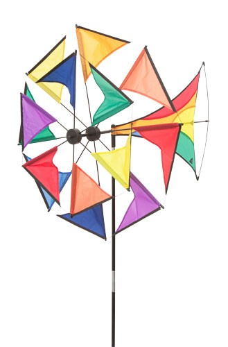 Invento-HQ Windspiel Windmill Illusion Rainbow (70 x 130 cm)