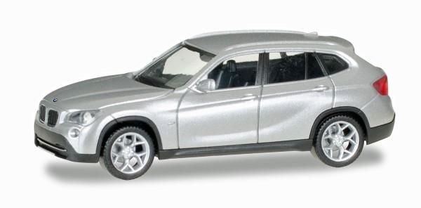 Herpa 034340-003 - BMW X1, glaciersilber metallic - 1:87