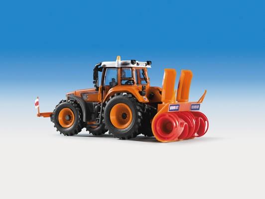 Kibri 15003 - FENDT VARIO mit SCHMIDT-Schneefräse - H0