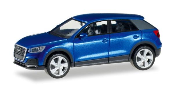 Herpa 038676 - Audi Q2, arablau metallic - 1:87