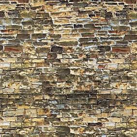 Vollmer 46043 - Mauerplatte Naturstein, braun - Karton - H0 (6043) - Fläche: 0,031m²