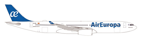 """Herpa Wings 533454 - Air Europa Airbus A330-300 """"Francisca Acera"""" - EC-MHL - 1:500"""