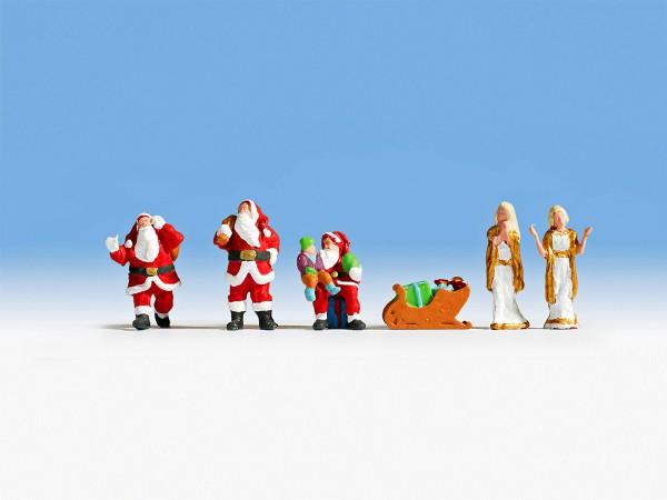 NOCH 15920 - Weihnachtsfiguren - H0