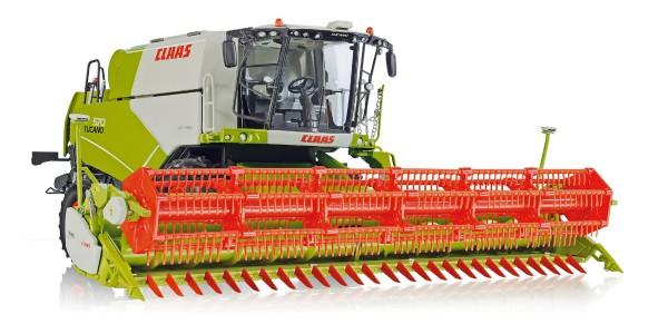 Wiking 077817 - Claas Tucano 570 Mähdrescher mit Getreidevorsatz V 930 - 1:32