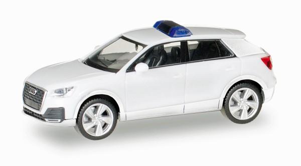 Herpa 013161 - Herpa MiniKit: Audi Q2, weiß / unbedruckt - 1:87
