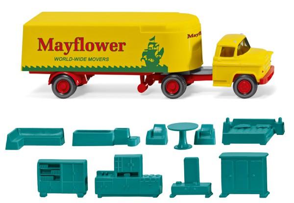 "Wiking 052102 - Koffersattelzug (Chevrolet) ""Mayflower"" - 1:87"