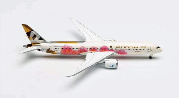 """Herpa Wings 534611 - Etihad Airways Boeing 787-9 Dreamliner - A6-BLS """"Choose Japan"""" - 1:500"""