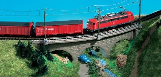 Kibri 37662 (7662) - Wildeck-Brücke eingleisig - N / Z