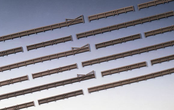 Kibri 37225 (7225) - Zaun mit Toren - N (1m=3,91€)