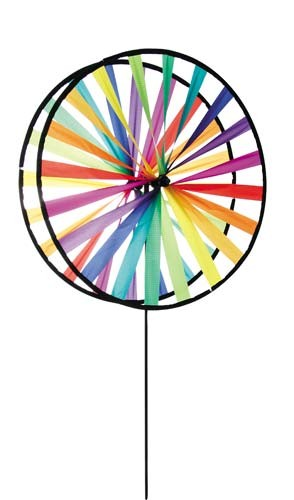 Invento-HQ Windspiel Magic Wheel Giant Duett Rainbow (63 x 138 cm)