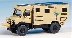 Kibri 14977 - UNIMOG Wohnmobil Unicat - Bausatz - H0