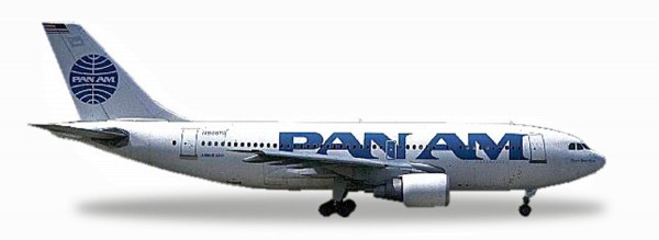 "Herpa Wings 500920-001 - Pan Am Airbus A310-200 - 25 YEARS Herpa Wings Edition - N806PA ""Clipper Bet"