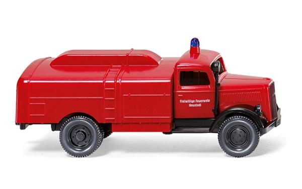 Wiking 086123 - Feuerwehr - Kesselwagen (Opel Blitz) - 1:87
